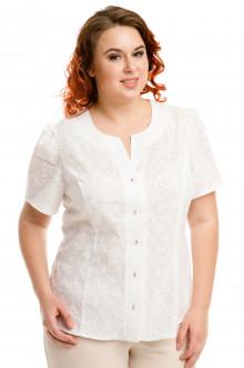 Блузка 591 Luxury Plus (Белый)