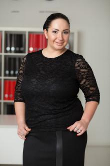 Блуза 032901 ЛаТэ (Черный)