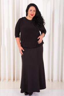 Блуза 021401 ЛаТэ (Черный)