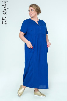 """Платье """"Её-стиль"""" 2033 ЕЁ-стиль (Синий)"""
