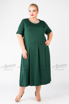 "Платье ""Артесса"" PP37203GRN45 (Темно-зеленый)"